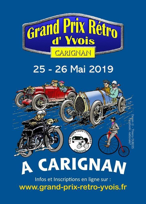 Grand Prix Retro D'Yvois @ Carignan