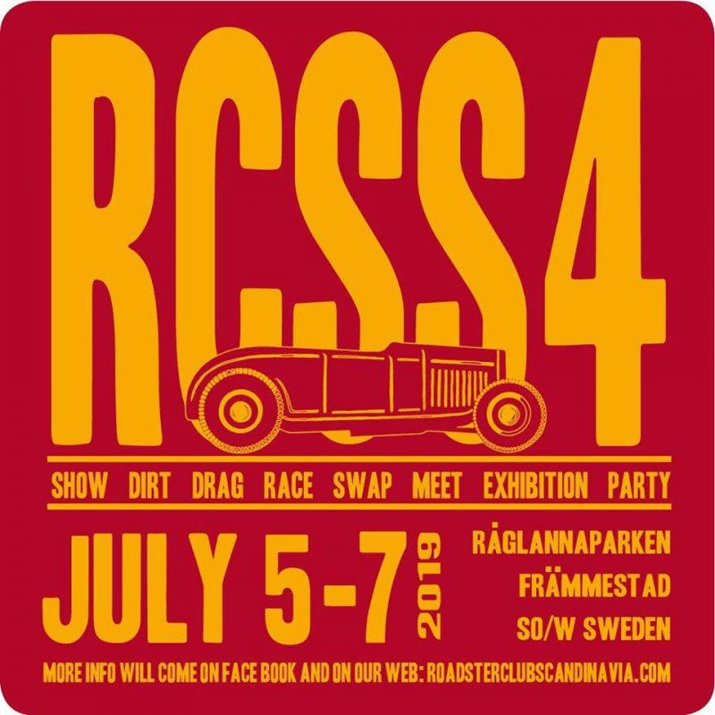 Roadster Club Scandinavia Show No. 4 @ Råglannaparken
