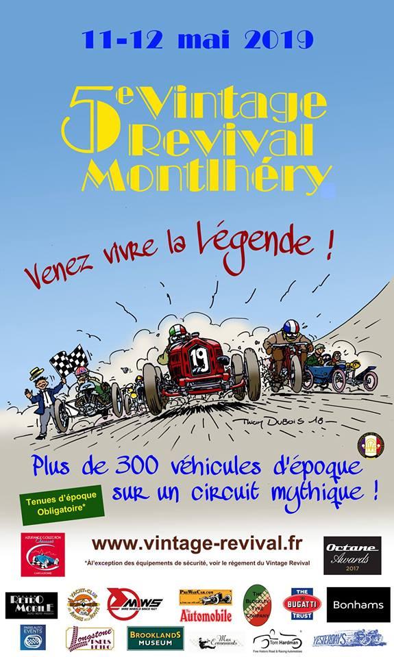 5. Vintage Revival Montlhéry @ Autodrome de Linas-Montlhéry