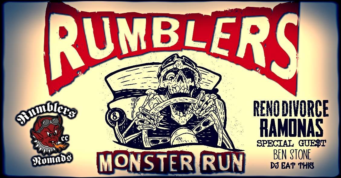Rumblers Monster Run 2019 @ L.A. Cham