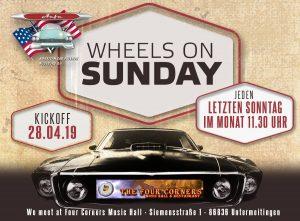 Wheels on Sunday Augsburg @ Four Corners Music Hall