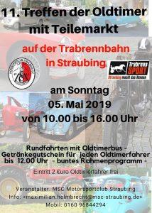 11. Oldtimertreffen mit Teilemarkt Straubing @ Trabrennbahn Straubing