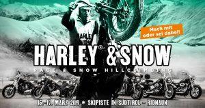 Harley & Snow Hillclimbing Race 2019 @ Ridnaun