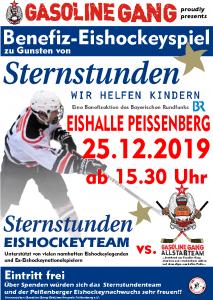 Gasoline Gang's Sternstunden Benefiz Eishockeyspiel @ Eishalle Peißenberg